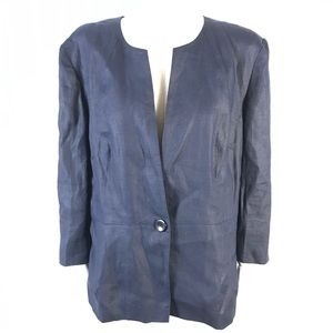 colebrook linen jacket